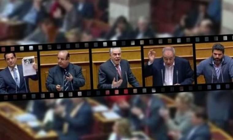 Έκαναν τσίρκο -πάλι- τη λειτουργία της Βουλής