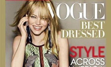 Emma Stone: Η Πιο Καλοντυμένη για το 2012 από το Vogue!