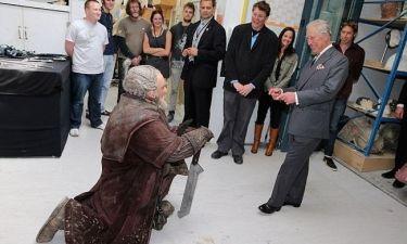 Όταν ο πρίγκιπας Κάρολος συναντήθηκε με τους νάνους από το Hobbit