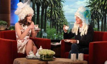 Keira Knightley: Tea Party με την Ellen DeGeneres