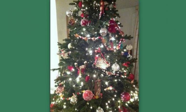 Ποια τραγουδίστρια στόλισε χριστουγεννιάτικο δέντρο;