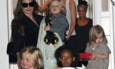 Brad Pitt- Angelina Jolie: Τα παιδιά τους σε έξαλλη κατάσταση σε πιτσαρία