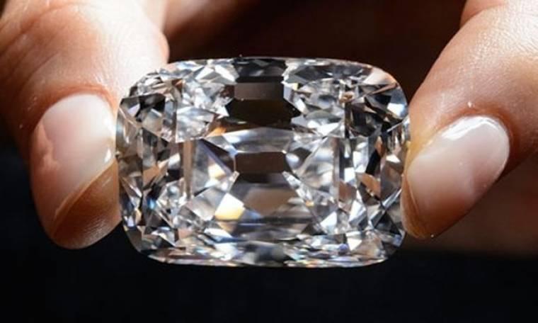 Τιμή ρεκόρ για διαμάντι σε δημοπρασία του Christie's