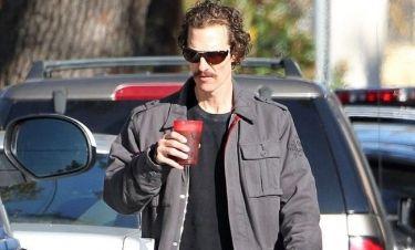 Matthew McConaughey: Ανυπομονώ να φάω το πρώτο μου μπέργκερ!
