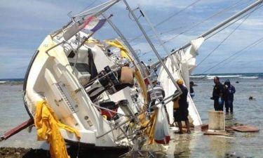 Ένα πτώμα και 200 κιλά κοκαΐνη σε ναυαγισμένο γιοτ