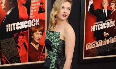 Scarlett Johansson: Έκλεψε την παράσταση στην πρεμιέρα του Hitchcock