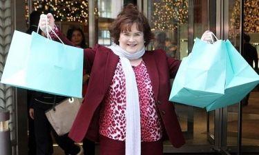 Η Susan Boyle «κατέβασε» όλο το Tiffany's
