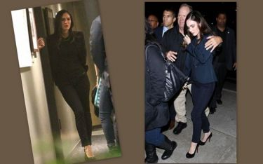 Megan Fox: Κομψά ντυμένη και με συνοδεία των σωματοφυλάκων της πήγε να δει σε prive προβολή την νέα της ταινία