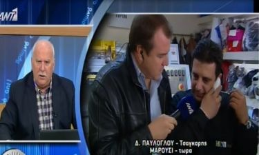 Η τηλεφωνική παρέμβαση του Λάτσιου στο «Πρωινό Ant1»!
