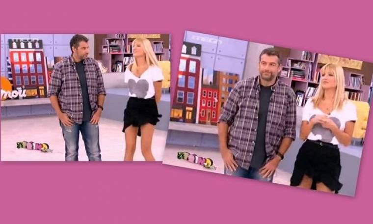 Σηκώθηκε η φούστα της Σκορδά! Πώς αντέδρασε ο Λιάγκας!
