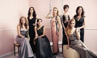 Οι κυρίες του Χόλιγουντ ποζάρουν!