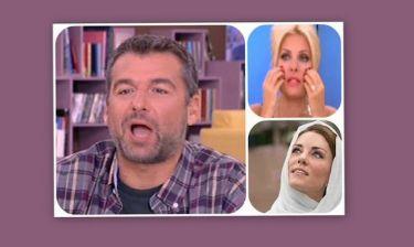 Λιάγκας: «Η Μενεγάκη και η Kate Middleton έχουν τα ίδια βάσανα»!