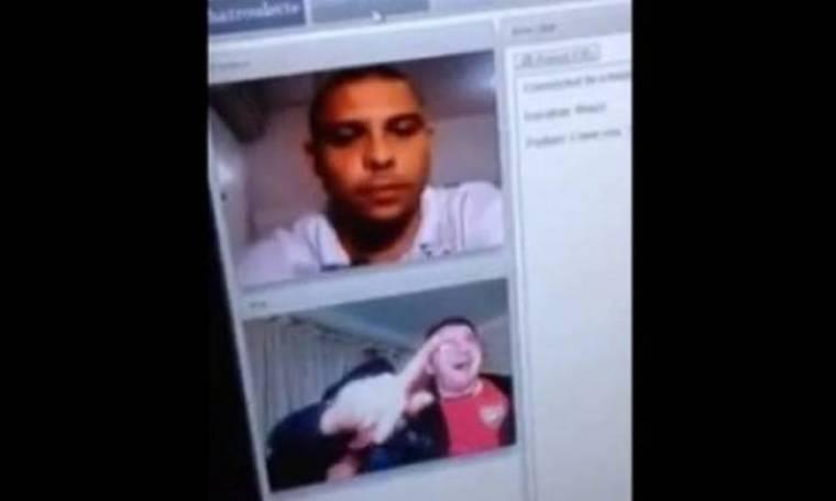 Συνάντησαν τυχαία τον Ρονάλντο σε chat! (video)