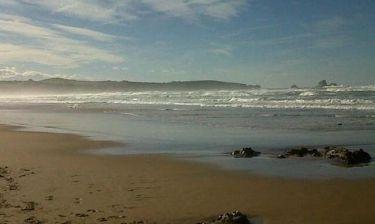 Απογευματινές βόλτες στην παραλία κάνει ο…