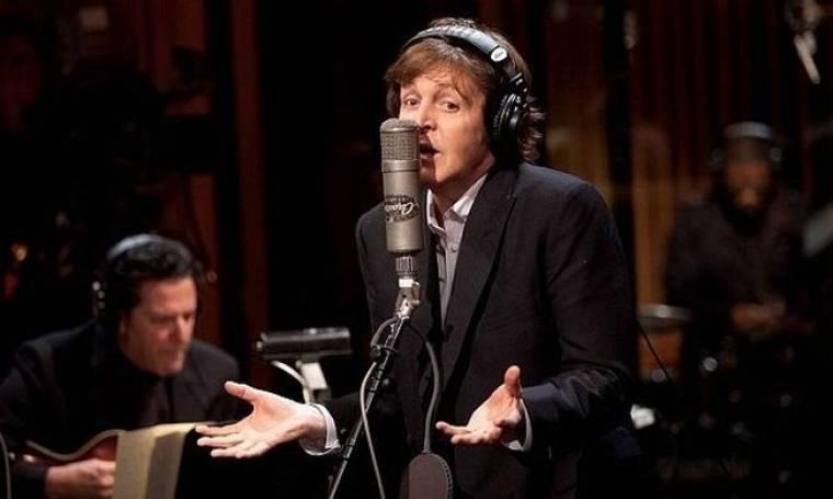 Ο Paul McCartney ηχογραφεί για τη σύζυγό του