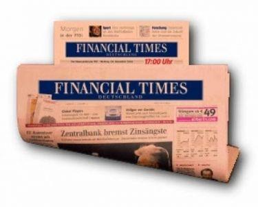 7 Δεκεμβρίου κλείνουν οι Financial Times