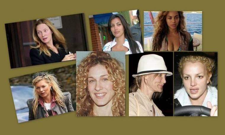 Νέες φωτογραφίες των σταρ χωρίς μακιγιάζ