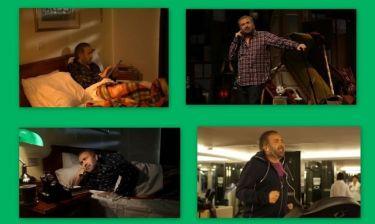 Λαζόπουλος-Μενεγάκη: Φωτογραφίες από τη νέα διαφημιστική καμπάνια του Alpha
