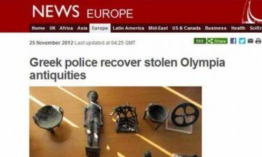 BBC: Η Ελλάδα «ξέπλυνε» τη ντροπή της Αρχαίας Ολυμπίας