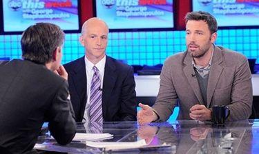Ben Affleck: Στην τηλεόραση για το Κονγκό