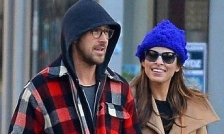 Ryan Gosling- Eva Mendes: Το πιο hot ζευγάρι του Hollywood βολτάρει χεράκι-χεράκι (photos)