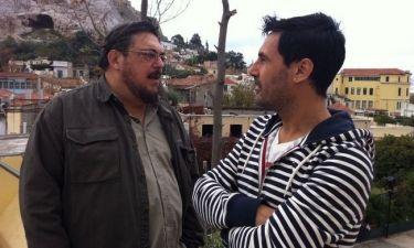 Ο Χρήστος Νέζος συνάντησε τον Λαυρέντη Μαχαιρίτσα για το «Πρωινό mou»