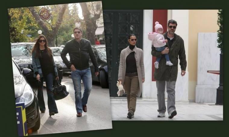 Τσιμτσιλή-Λαφαζάνη: Βόλτα μετά συζύγων και τέκνου στην Κηφισιά!