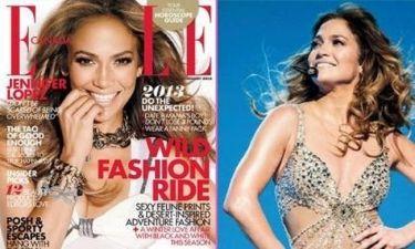 Jennifer Lopez: Φωτογράφηση για το Elle