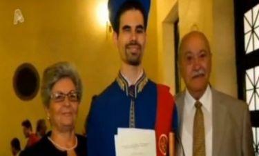 Συγκλονιστική ιστορία στην «Ελένη»: Ο Βαγγέλης είναι εκ γενετής τυφλός, αρίστευσε στη Νομική και ανοίγει δικηγορικό γραφείο