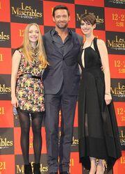 Ο Hugh Jackman και τα σέξι κορίτσια του Les Miserables