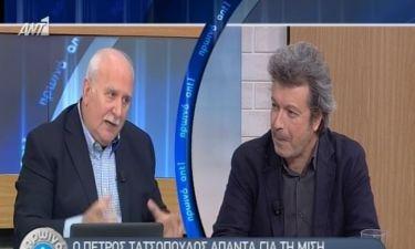 Πέτρος Τατσόπουλος:«Δε θα μπορούσα να πηδήξω τη μισή Αθήνα ακόμη και να έτρεχα με ταχύτητα φωτός»
