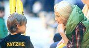 Νίκη Κάρτσωνα: Τρυφερές στιγμές με τον γιο της στο γήπεδο