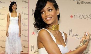 Η Rihanna στην παρουσίαση του νέου της αρώματος