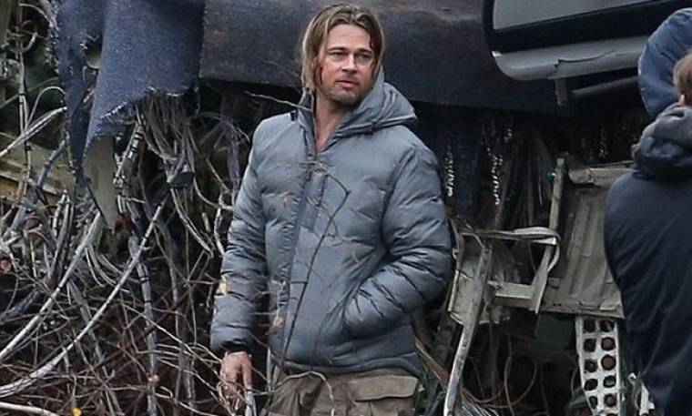 Brad Pitt: Ματωμένος στα πλατό του World War Z