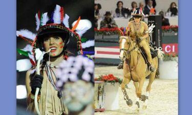 Σαρλότ Κασιράγκι: Η πριγκίπισσα που ντύθηκε Ινδιάνα!