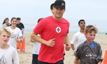 Josh Duhamel: Τρέχοντας για καλό σκοπό!