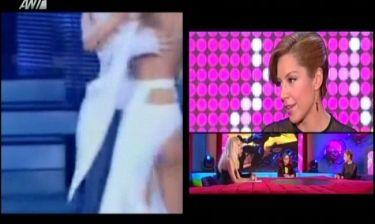 Μαριάντα Πιερίδη: Hot αποκάλυψη: Δεν φορούσε καλσόν κάτω από το φόρεμα στο «ατύχημα» στο Dancing!