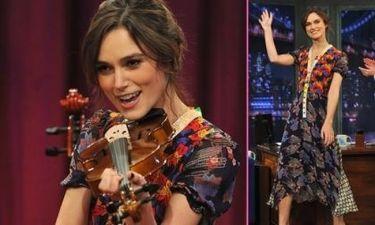 Και η Keira Knightley το βιολί της!