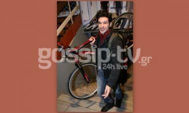 Ορφέας Αυγουστίδης: Πήγε στο θέατρο με το ποδήλατο