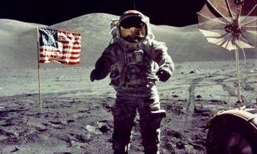 Ο τελευταίος άνθρωπος που πάτησε το φεγγάρι άφησε εκεί...