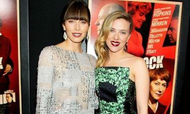 Scarlett Johansson-Jessica Biel: Υπέρλαμπρες στην πρεμιέρα της νέας τους ταινίας