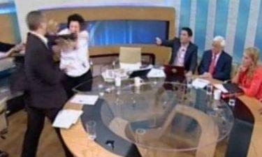 Στη Βουλή η δικογραφία κατά Κασιδιάρη για το χαστούκι στην Κανέλλη