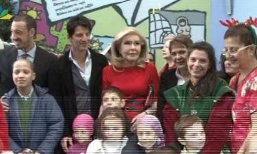 Ο Σάκης Ρουβάς κοντά στο πλευρό των παιδιών με καρκίνο