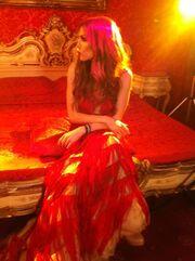 Στα κατακόκκινα η Δέσποινα Βανδή!