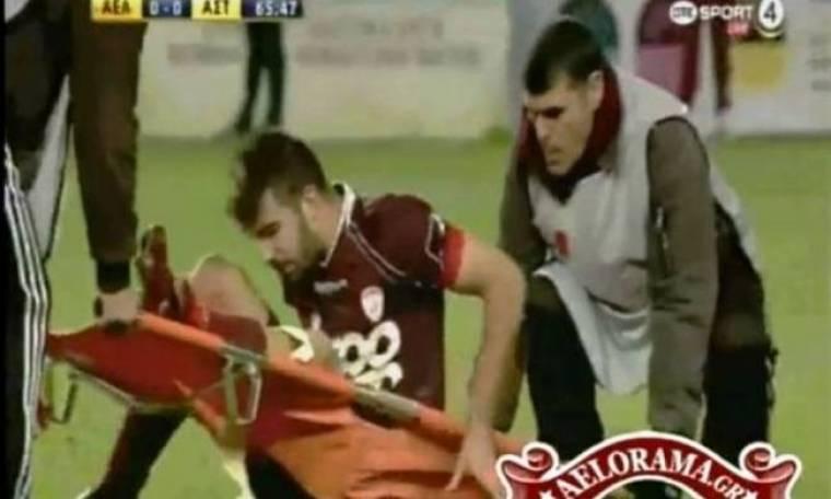 Ελληνικό ποδόσφαιρο 2012: Σκίστηκε το φορείο, ξερός ο ποδοσφαιριστής (Video)