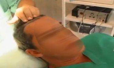 Ποιος Έλληνας παρουσιαστής κάνει μεταμόσχευση μαλλιών;