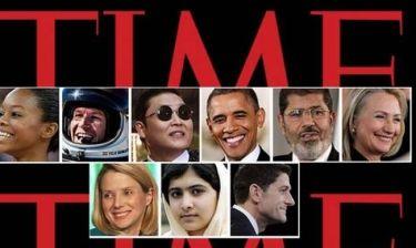 Time: Το πρόσωπο της χρονιάς