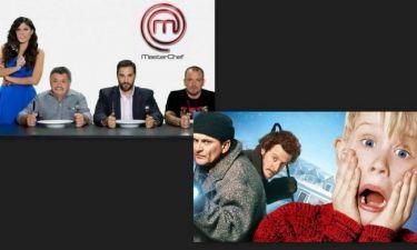 «Master chef» VS «Μόνος στο σπίτι»: Ποιος θα είναι ο νικητής της τηλεθέασης την παραμονή των Χριστουγέννων;