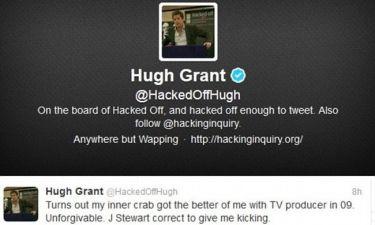 Hugh Grant: Μου άξιζε να με αποκλείσει ο Jon Stewart