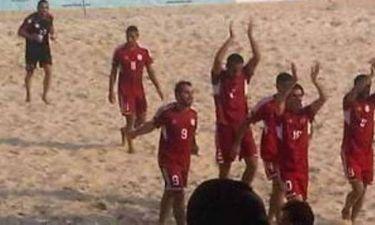 Beach Soccer: Παίκτης σκόραρε με κεφαλιά από 30 μέτρα! (video)